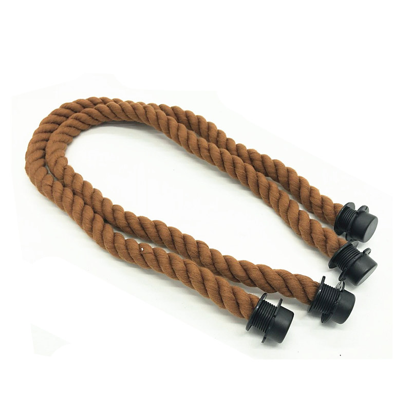 1 pair new brown color 65 cm rope handle for obag bag use цена и фото