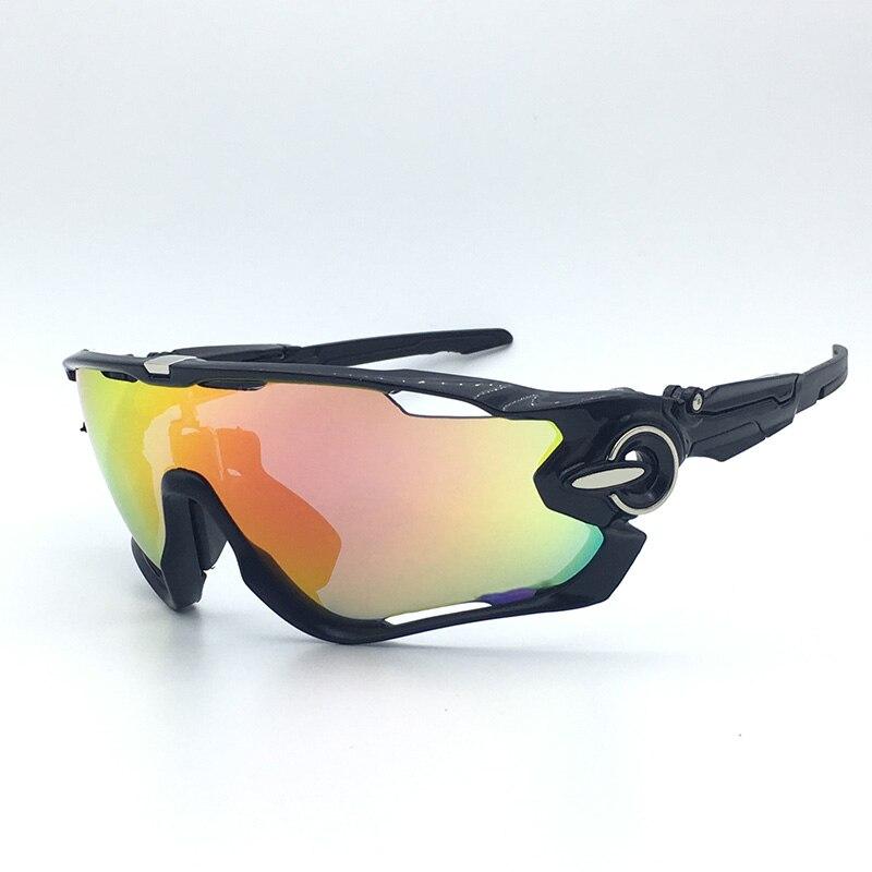 2018 Polarized ciclismo gafas Racing 5 lente ciclismo gafas de sol hombres UV400 ciclismo gafas deporte conducción Bike gafas de sol
