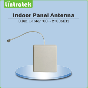 Image 3 - Lintratek תלת להקת 2G 3G 4G עבור GSM 900 + LTE 1800 + WCDMA 2100 MHz נייד אות Booster מגבר סט עם 2 מקורה אנטנה @ 5.4