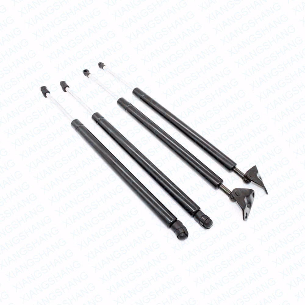 4pcs Auto Rear Liftgate&Front hood Lift Supports Gas Spring Damper Struts Charged Arms Rods for Toyota Land Cruiser Lexus LX470|lift support|strut support|lift struts - title=