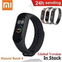 Xiaomi Mi Band 4 Smart Bracelet 3 AMOLED Color Screen Miband 4 Global Fitness Bluetooth Sport 50ATM Waterproof SmartBand NFC
