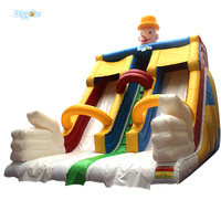 New Design Giant Inflatable Water Park With Climbing Slide Free blower Included