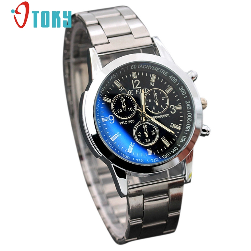 OTOKY luxury watches men quartz-watch stainless steel strap Sport Quartz Male clock Hour relogio masculino 2017 #20 Gift 1pc gt watch men watch italy flag f1 sport watches silicone strap quartz watch male hour clock montre homme relogio masculino