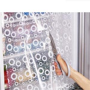 Image 5 - 2 חתיכות מקרר כלי להדביק יכול DIY מקרר אנרגיה חיסכון שימור מדבקות מקרר וילון מדבקות QW118