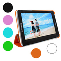 Натуральная Кожа Стенд Чехол для 7 дюймов Lenovo S5000 3 Г/S5000 wi-fi Tablet PC 4 Цвет С Экрана Стилус в качестве Подарка