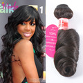7a Grade Indian Virgin Hair Loose Wave 1 Piece 100g Human Hair Bundles Jet Black Raw Indian Hair Extension Natural Hair Coupon