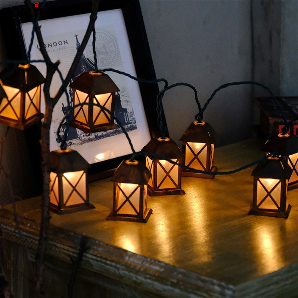 3m LED Romantic Wire Light String Lights Vintage Metal House ...
