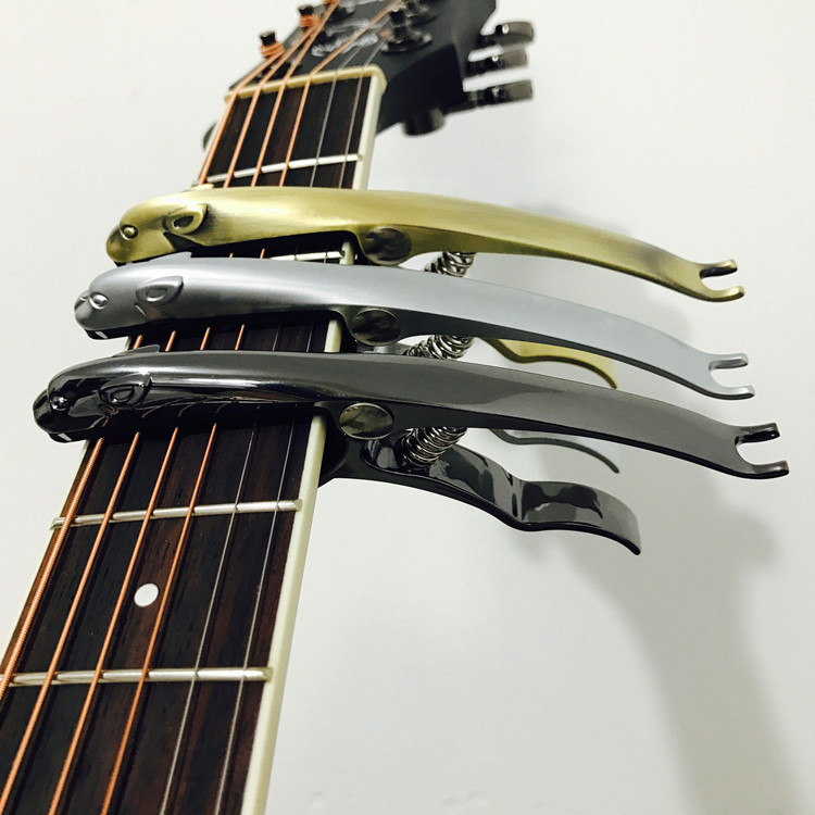 2017 NEW cheetah guitar capo / classical guitar tuner / capo / Keri / sound clip