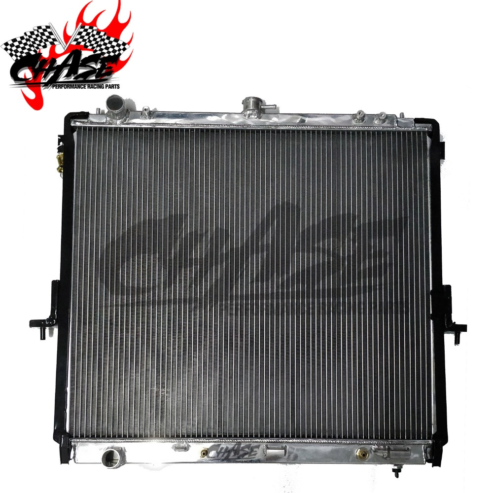 ALUMINUM RADIATOR For NISSAN PICKUP NAVARA D22 FRONTIER AT 40mm  OE:21410-EB30A