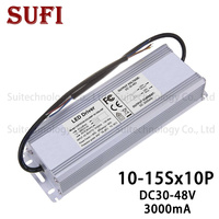 LED Driver 100W 110W 120W 130W 140W 150W 3000A Power Supply Floodlight LED Driver light Transformer IP67 Waterproof Adapter