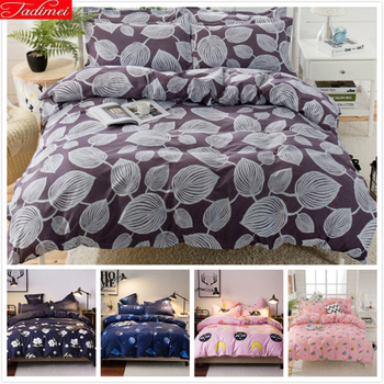 2019 New Fashion Spring Autumn Soft Cotton Bedding Set Kids Bed Linens Single Full Twin Queen King Size Duvet Cover 1.5m 1.8m 2m