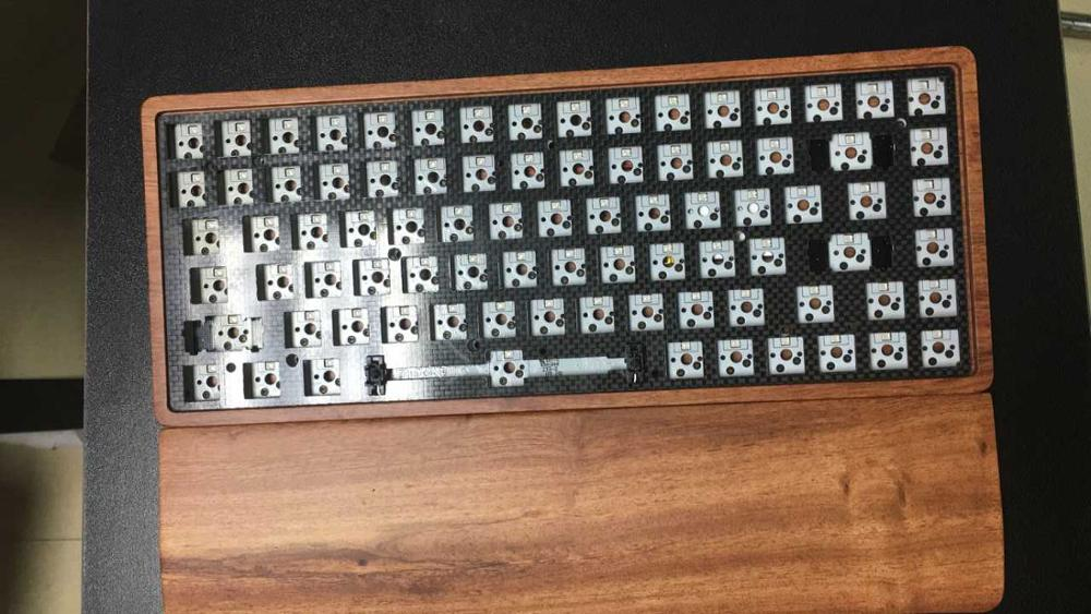 GK84 Mechanical Keyboard KIT Bluetooth Mini Keyboard 84 Kit Hot Swap PCB Wireless