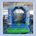DHL FREE Shipping Inflatable Sea world Bouncer + Free CE or UL certificated Blower Commercial Inflatable Bounce House