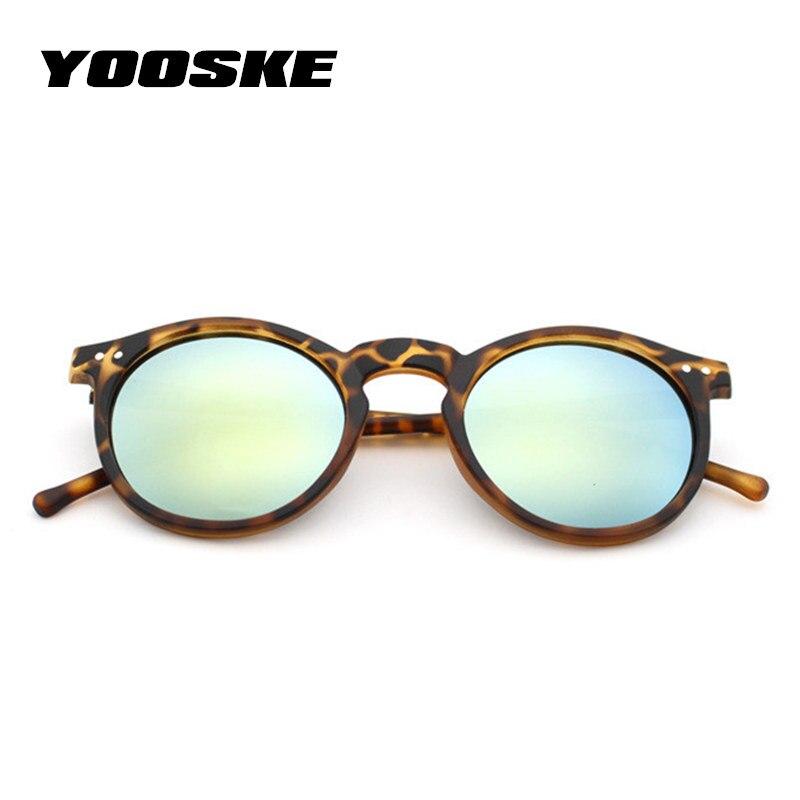 Men Mercury Mirror Sun Glasses Women Sunglasses Leopard Gold Round Goggles Sale