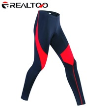 REALTOO Men's Cycling Pants 3D Padded Cycle Bicycle Trousers Cycling Tights