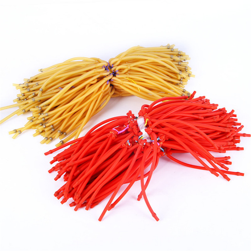 5Pcs/set Fishing Rubber Band Shooting Fish Capture Slingshot High Elastic High Quality
