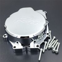 Free shipping Motorcycle Engine Stator cover for Yamaha YZF R6 YZF R6 2006 2014 CHROME left side