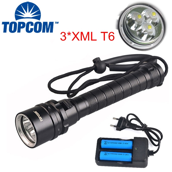 15000lumens Professional Diving Flashlight Torch 30W 3 * XML-T6 Underwater 200 meter Diving Lantern IP68 Waterproof Light Lamp sitemap 200 xml