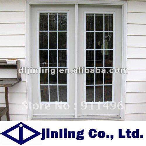 French Door Screens Double Glass Design Door Grill Design