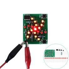 DIY Kit Electronic Windmill Kit DC 5V Funny DIY for Practice Adjustable Speed MCU Design for Soldering Electronic DIY Kit