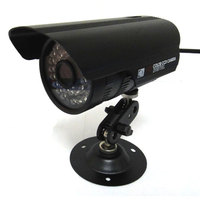 HD 달리 보안 CCTV 카메라 720 마력 1mp 야외 총알 비바람에 36IR Led