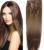 """16 """"-32'' 10 pcs Set 100% Remy Brasileiro Grampo de Cabelo Em/no Humano Extensões de cabelo #4 marrom médio 120g 140g 160g 180g 200g 220g"""