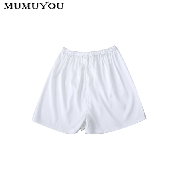 6a52f629ad Women Elastic Safety Under Shorts Pants Solid Safe Underwear