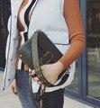 Chispaulo bolsos de señora de cuero real de lujo bolsos de las mujeres famosas marcas bolsas femininas bolsa de hombro de las mujeres borla t635