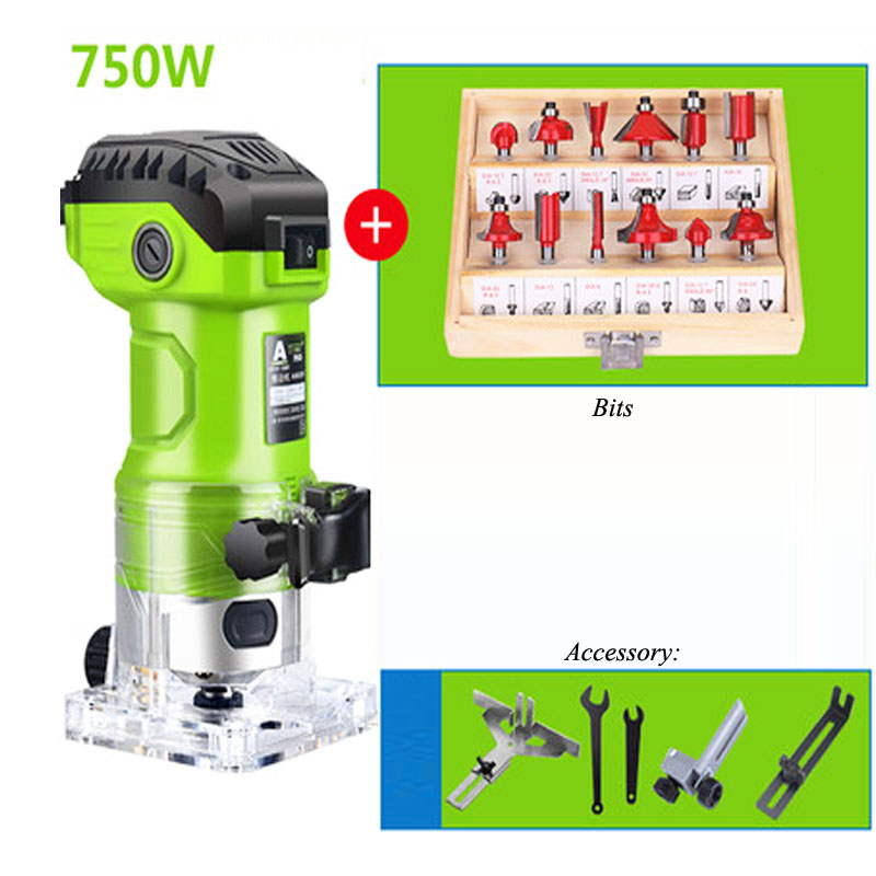 Laminate Slotting Woodworking Trimming Palm Router All Copper Electric Hand Tool Motor X6301Laminate Slotting Woodworking Trimming Palm Router All Copper Electric Hand Tool Motor X6301