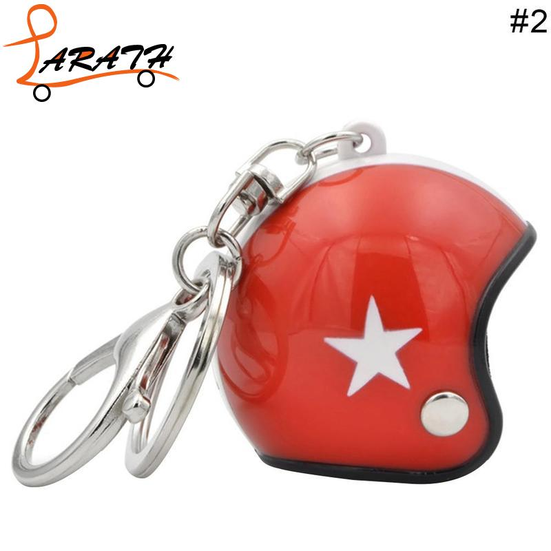 US $1 9 34% OFF|New Moto Fancy Key Chain Mini Sport Motorcycle Helmet  Pendant Keychain For Motorbike Black Red MCT1561-in Key Rings from  Automobiles &