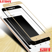 LITBOY 0.26mm Full Screen Protection Tempered Glass For Xiaomi Redmi 4X Screen Protector Film 9H Hardness Explosion Proof 5 inch