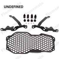 Motorcycle Black Headlight Lamp Mesh Grill Guard Cover Protector For 2013 2014 2015 2016 2017 BMW