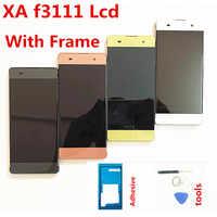 """100% getestet 5 """"Für SONY Xperia XA F3111 F3112 F3116 LCD Touch Screen Digitizer Montage Ersatz Teile XA Display"""
