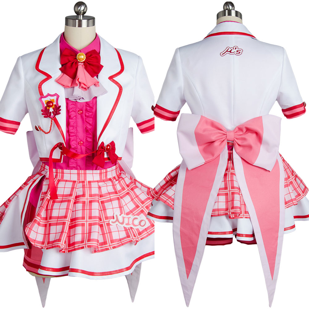 LoveLive! Love Live Niko Nico Yazawa After School Activity Dress Stage Girls Uniform Full Set Anime Halloween Cosplay Costumes