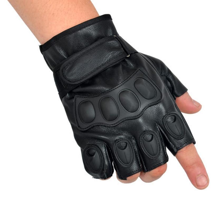 Morewin 2018 Lovely Party Voksen Tactical Handskar Half Finger PU - Kläder tillbehör - Foto 3