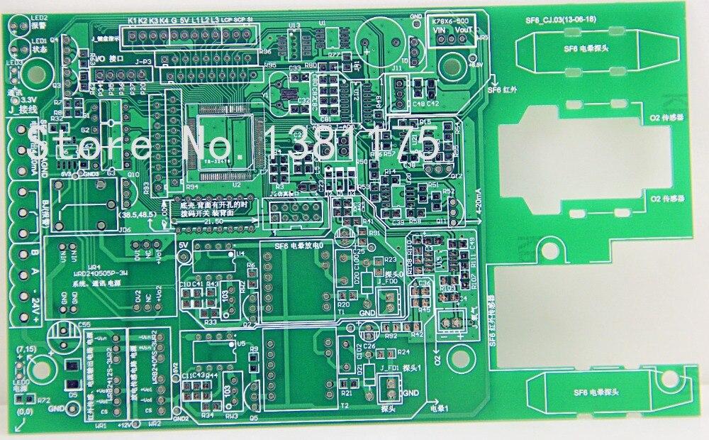 100% commentaires positifs livraison gratuite faible coût deux couches Quickturn PCB conseils Prototype fabricant rapide PCB vente 027