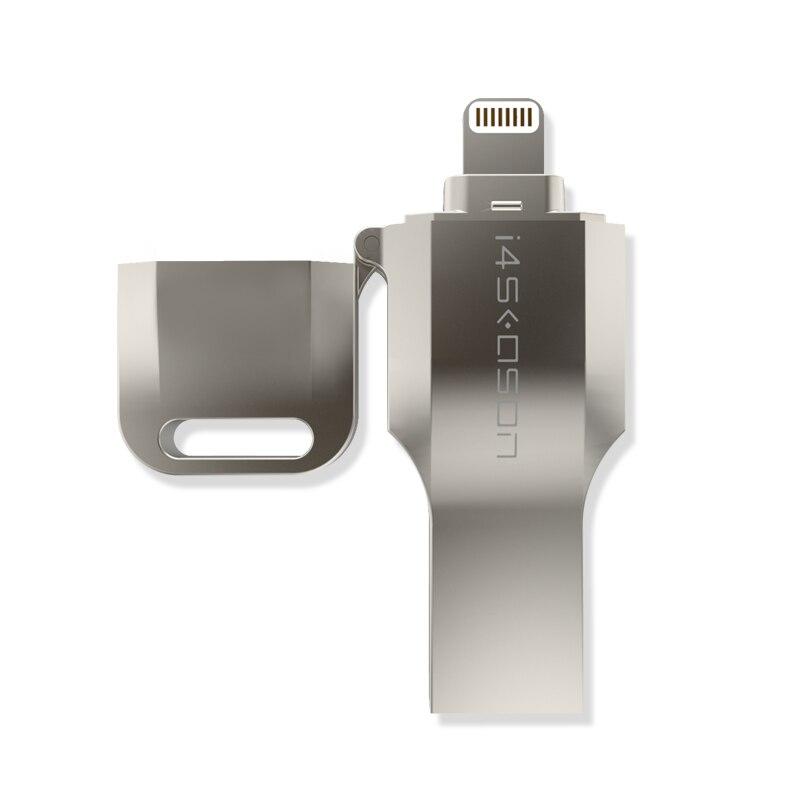 USB Flash Drive 64GB USB 3.0 OTG Flash Drive Metal Pen Drive U Disk for MFi  iOS 10 iPhone 7 6 6s Plus  Lightning
