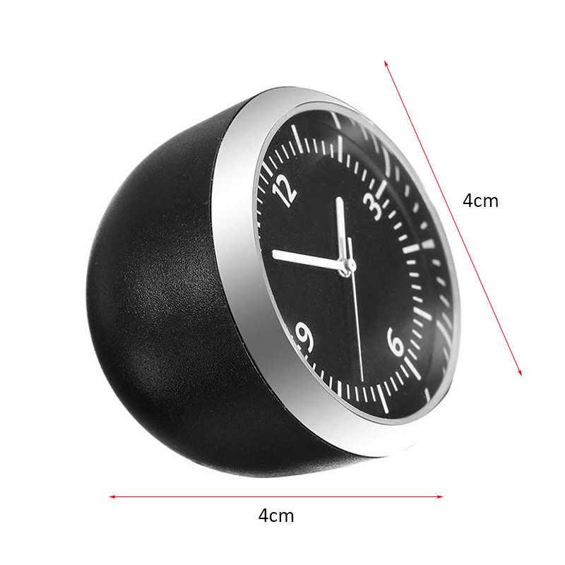 Tabela clássico painel do carro relógio digital relógio automático termômetro automotivo higrômetro relógio decoração do carro ornamentos z2
