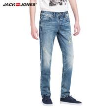 JACK&JONES новый стиль прибытие модные полная Длина сплошной узкие джинсы Мужская одежда джинсовые брюки роскошные брюки 215132012