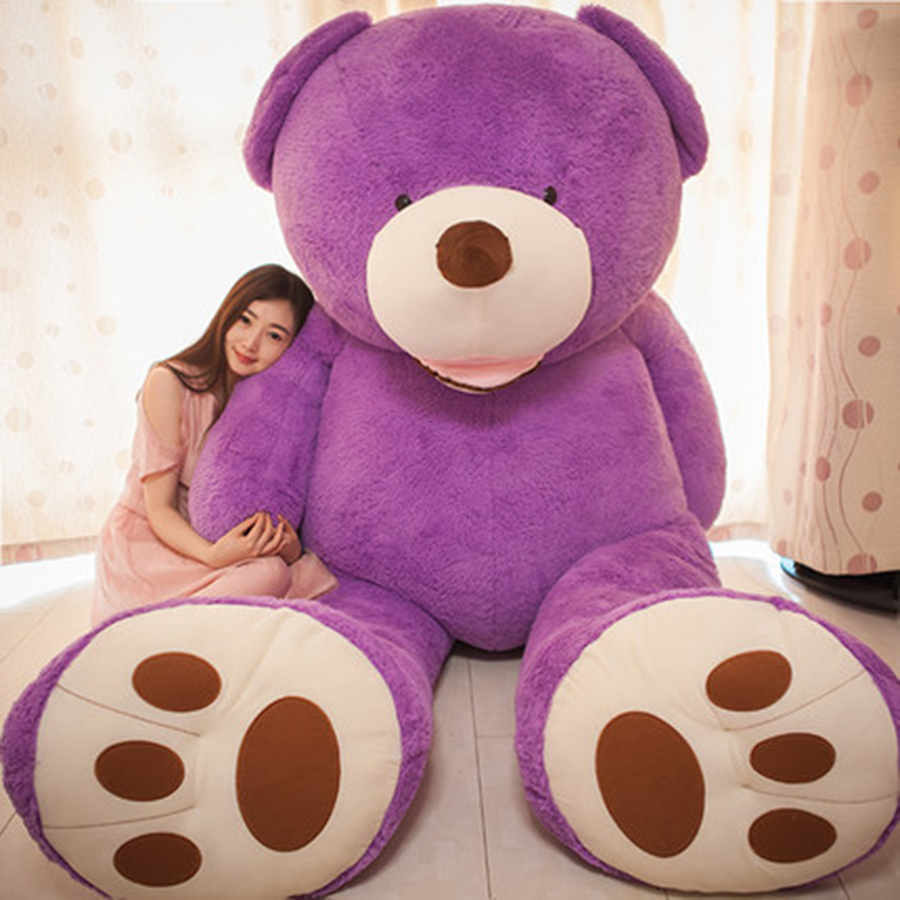 New Plush Toys Large Size High Quality Teddy Bear Big Embrace Bear Doll Lovers Gifts Birthday Gift Peluches De Animales 70C0073 1pcs large size 120cm teddy bear plush toys bear 4 colors high quality kisd toys bear doll lovers christmas gifts birthday gift