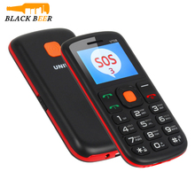 MOSTHINK Uniwa V708 2G GSM Strong Torch Senior Elderly Mobile Phone 800mAh Battery Russian Keyboard Charging Cradle SOS Buttons(China)