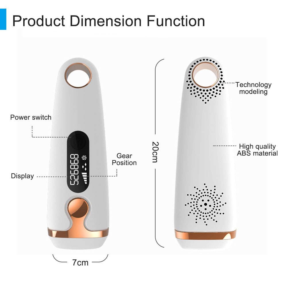 Freezing Point Painless Laser Hair Removal Instrument Painless Ipl Photon Epilator With Skin Sensor For Women Men in Razor from Beauty Health