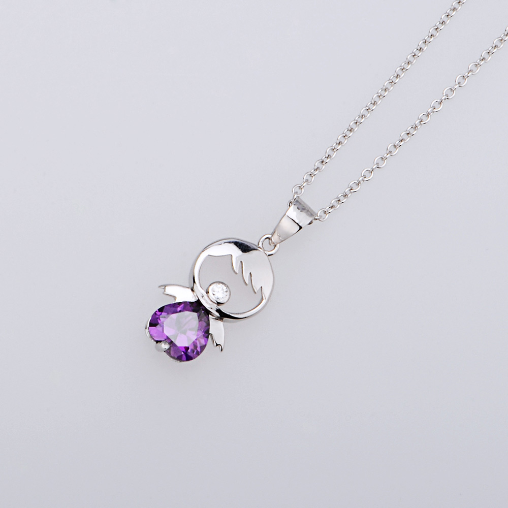 Yafeini 925 sterling silver jewelry cherry designer silver pendant yafeini 925 sterling silver jewelry cherry designer silver pendant charm purple heart necklaces pendants gnd0036 z in necklaces from jewelry accessories aloadofball Choice Image
