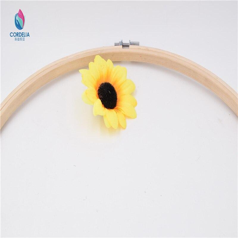Korean fashion 5 stücke 26 cm rund vintage 100% natürliche bambus ...