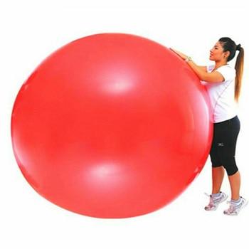 Nouveau ballon uf g ant en Latex de 72 pouces Ballon d oeuf humain rond pour