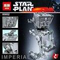 Nova Lepin 05052 1068 pcs Star War Out of print empire AT ST Modelo Blocos de Construção Tijolos Brinquedos Meninos Presentes 75153