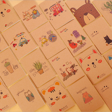 Korean cute Mini Mini notebook blank page Notebook kawaii Notepad Stationery Office School Supplies Promotional gifts