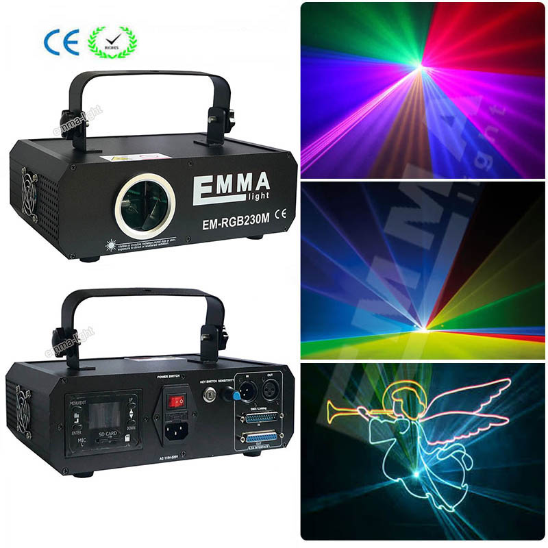 Lights & Lighting Expressive Dmx+ilda+sd+2d+3d Multi Color Mini 1w Rgb Laser Light/dj Lights/stage Light/ Lazer Light/laser Projector