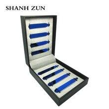 SHANH ZUN 8 pcs Custom Shirt Dress Collar Stay Personalised Bones Stiffeners Blue ,Order the Sizes You Need