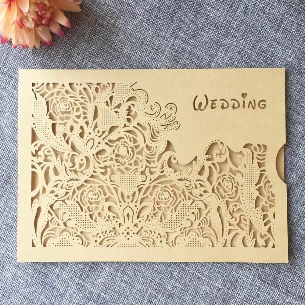 Wedding Invitation Card 250g Pearl